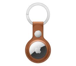 Lokalizator i akcesoria Apple Skórzany brelok do AirTag naturalny brąz