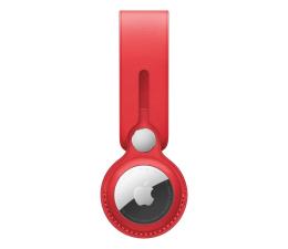 Lokalizator i akcesoria Apple Pasek skórzany do AirTag czerwony