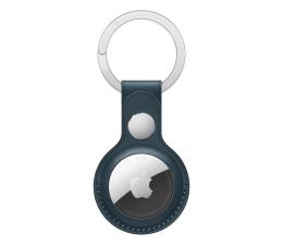 Lokalizator i akcesoria Apple Skórzany brelok do AirTag bałtycki błękit