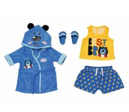 Lalka i akcesoria Zapf Creation Baby Born Chłopięcy Strój Kąpielowy i Szlafrok