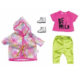 Lalka i akcesoria Zapf Creation Baby Born Zestaw Ubranek na Deszczowe Dni