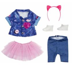 Lalka i akcesoria Zapf Creation Baby Born Ubranko Zestaw Jeansowy dla Lalki