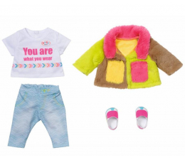 Lalka i akcesoria Zapf Creation Baby Born Kolorowy Płaszcz dla Lalki