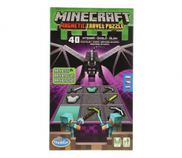 Gra planszowa / logiczna Ravensburger Minecraft: Magnetic Travel Puzzle