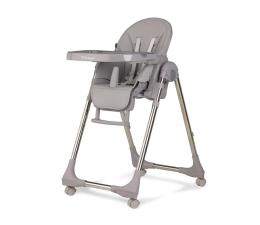Krzesełko do karmienia KIDWELL Krzesełko do Karmienia Bento Gray / Chrome