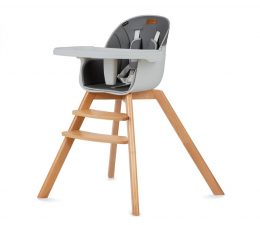 Krzesełko do karmienia KIDWELL Krzesełko do Karmienia Nobis Gray