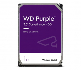 Dysk HDD WD PURPLE 1TB 5400obr. 64MB CMR