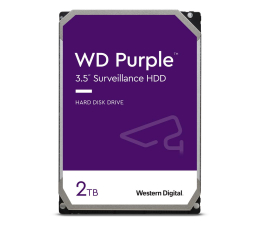 Dysk HDD WD PURPLE 2TB 5400obr. 64MB CMR