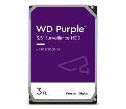 Dysk HDD WD PURPLE 3TB 5400obr. 64MB CMR