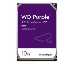 Dysk HDD WD PURPLE 10TB 7200obr. 256MB CMR