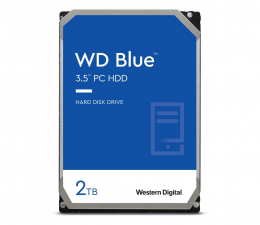 Dysk HDD WD BLUE 2TB 5400obr. 64MB CMR