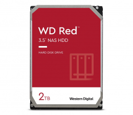 Dysk HDD WD RED 2TB 5400obr. 256MB DM-SMR