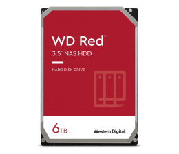 Dysk HDD WD RED 6TB 5400obr. 256MB DM-SMR