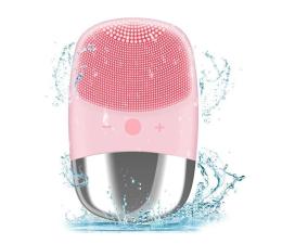 Urządzenie kosmetyczne ANLAN Silikonowa Mini szczoteczka do twarzy ALJMY04-04 (różowa)