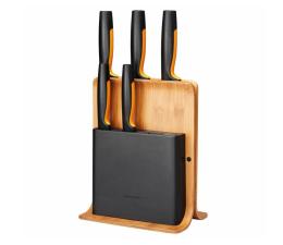 Nóż kuchenny Fiskars Zestaw 5 noży w bloku bambusowym 1057552 Functional Form