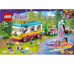 Klocki LEGO® LEGO Friends  41681 Leśny mikrobus kempingowy i żaglówk