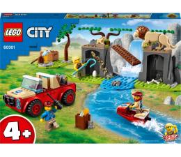 Klocki LEGO® LEGO City 60301 Terenówka ratowników dzikich zwierząt
