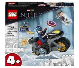 Klocki LEGO® LEGO Marvel Avengers  76189 Kapitan Ameryka i pojedynek z Hydrą