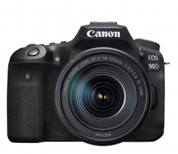 Lustrzanka Canon EOS 90D + EF-S 18-135mm F3.5-5.6 IS USM