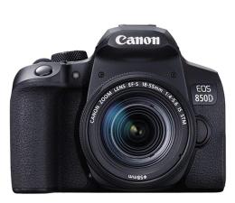 Lustrzanka Canon EOS 850D+ EF-S 18-55mm F4-5.6 IS STM