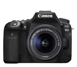 Lustrzanka Canon EOS 90D+ EF-S 18-55mm F4-5.6 IS STM