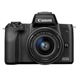 Bezlusterkowiec Canon EOS M50 czarny+ M15-45mm F3.5-6.3 IS STM