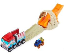 Pojazd / tor i garaż Spin Master Psi Patrol Zestaw T-Rex z autkiem Chase