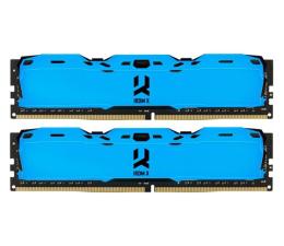 Pamięć RAM DDR4 GOODRAM 16GB (2x8GB) 3200MHz CL16 IRDM X Blue