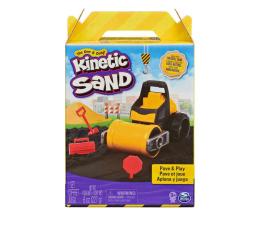 Zabawka kreatywna Spin Master Kinetic Sand Budowa Drogi Asfalt+ Wale