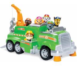 Pojazd / tor i garaż Spin Master Psi Patrol Zespół Rocky'Ego + 6 figurek