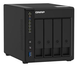 Dysk sieciowy NAS / macierz QNAP TS-451D2 (4xHDD, 2x2-2.9GHz, 4GB, 4xUSB, 2xLAN)