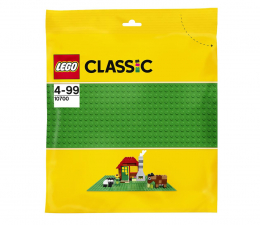 Klocki LEGO® LEGO Classic 10700 Zielona płytka konstrukcyjna