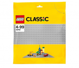 Klocki LEGO® LEGO Classic 10701 Szara płytka konstrukcyjna