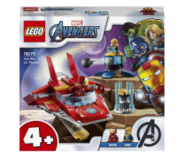 Klocki LEGO® LEGO Marvel Avengers 76170 Iron Man kontra Thanos