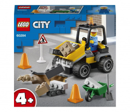 Klocki LEGO® LEGO City 60284 Pojazd do robót drogowych