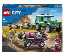 Klocki LEGO® LEGO City 60288 Transporter łazika wyścigowego