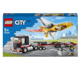 Klocki LEGO® LEGO City 60289 Transporter odrzutowca pokazowego
