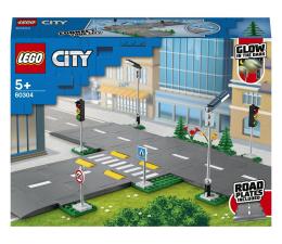 Klocki LEGO® LEGO City 60304 Płyty drogowe