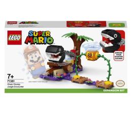 Klocki LEGO® LEGO Super Mario 71381 Spotkanie z Chain Chompem w dżun