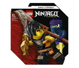 Klocki LEGO® LEGO NINJAGO 71733 Epicki zestaw bojowy — Cole kontra