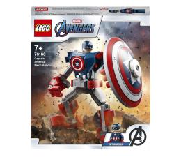 Klocki LEGO® LEGO Marvel Avengers 76168 Opancerzony mech Kapitana