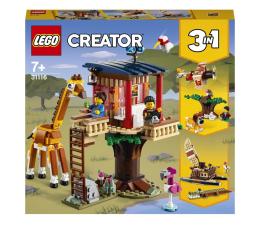 Klocki LEGO® LEGO Creator 31116 Domek na drzewie na safari