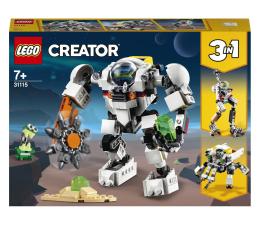 Klocki LEGO® LEGO Creator 31115 Kosmiczny robot górniczy