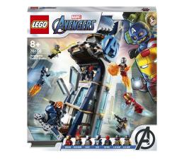 Klocki LEGO® LEGO Marvel Avengers 76166 Walka o Wieżę Avengersów