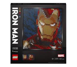 Klocki LEGO® LEGO Art 31199 Iron Man z wytwórni Marvel Studios