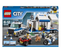 Klocki LEGO® LEGO City 60139 Mobilne centrum dowodzenia