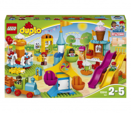 Klocki LEGO® LEGO DUPLO 10840 Duże wesołe miasteczko