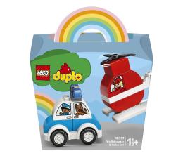 Klocki LEGO® LEGO DUPLO 10957 Helikopter strażacki i radiowóz