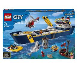 Klocki LEGO® LEGO City 60266 Statek badaczy oceanu