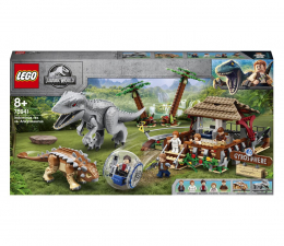 Klocki LEGO® LEGO Jurassic World 75941 Indominus Rex kontra ankyloza